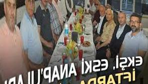 Ekşi hosted former ANAP residents at iftar - Kocaeli Haber - Cagdas Kocaeli Newspaper