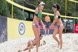 Beach Volley, European Under 20, Anapa. Good start for the Azzurri: two wins and one defeat on the first day