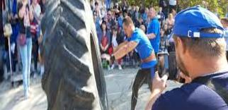 The power of the Kuban. Near Anapa there was a festival of power extreme (video)
