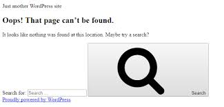 Oops! That page can't be found.