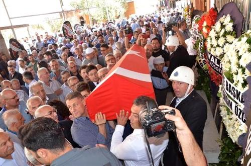 Nazilli's legendary president is sent off on his last trip - Aydin News