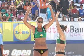 Russians Makroguzova and Kholomina win the Espinho Open of Beach Volleyball 2019