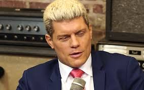 Cody Rhodes responds to the AEW song during cell hell