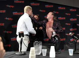 Watch: Cody Rhodes and Chris Jericho Brawl during the AEW New York Comic Contest Panel