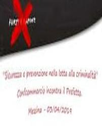 The Si.Cura City: in Messina the 1st Day for the prevention and fight against crime