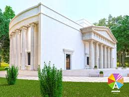 In Anapa build a new registry office in antique style