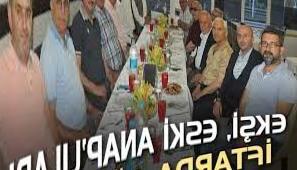 Ekşi hosted former ANAP residents at iftar - Kocaeli Haber - Cagdas Kocaeli Newspaper